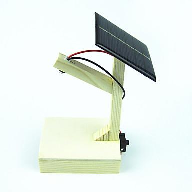 Güneş Enerjili Oyuncaklar Bilim ve Keşif Oyuncakları Oyuncaklar Dörtgen Güneş Enerjisi ile çalışır Kendin-Yap Tahta Metal 1 Parçalar