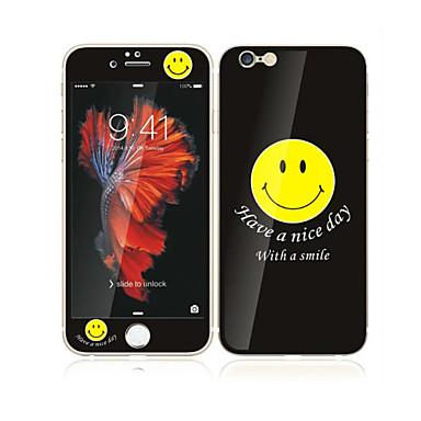 Apple iPhone 6s / 6 4.7 szkło hartowane z ochraniaczem ekranu przednie pełne pokrycie ekranu miękka krawędź i ochraniacz pleców wzór