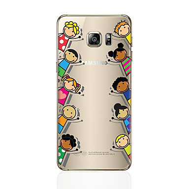tok Για Samsung Galaxy S7 edge S7 Με σχέδια Πίσω Κάλυμμα Κινούμενα σχέδια Μαλακή TPU για S7 edge S7 S6 edge plus S6 edge S6 S5 S4