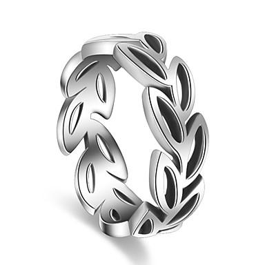 Pierścionki Impreza Specjalne okazje Casual Biżuteria Posrebrzany Pierscionek 1szt,Regulacja Srebrne