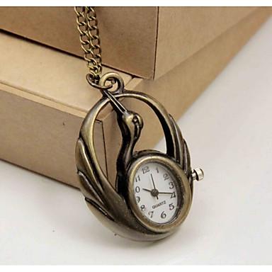 Çiftlerin Cep kol saati Quartz Alaşım Bant Beyaz