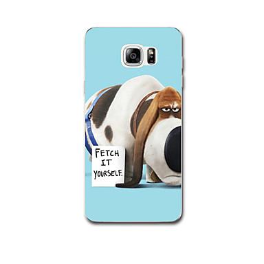 إلى نحيف جداً نموذج غطاء غطاء خلفي غطاء كلب ناعم TPU إلى Samsung Note 5 Note 4