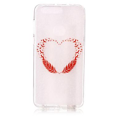 Για Με σχέδια tok Πίσω Κάλυμμα tok Καρδιά Μαλακή TPU για Huawei Huawei P9 Lite Huawei P8 Lite Huawei Honor 8 Huawei Nova