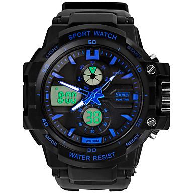 Bărbați Ceas Sport Ceas Elegant Ceas Schelet Ceas La Modă Ceas de Mână Quartz Silicon Bandă Charm Casual Multicolor