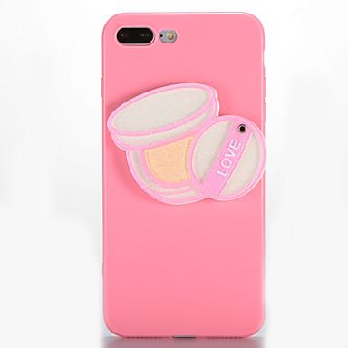Varten Peili DIY Etui Takakuori Etui Seksikäs nainen Pehmeä TPU varten AppleiPhone 7 Plus iPhone 7 iPhone 6s Plus iPhone 6 Plus iPhone 6s
