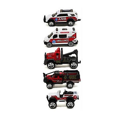 Wyścigówka Pojazdy budowlane i ciężarówki do zabawy Samochodziki do zabawy zestawy do zabawy zawierające pojazdów Pojazdy odlewane 1:64