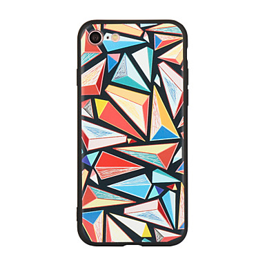 Kılıf Na Apple Wzór Etui na tył Geometryczny wzór Twarde Akrylowy na iPhone 7 Plus iPhone 7 iPhone 6s Plus iPhone 6 Plus iPhone 6s iPhone