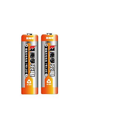 Nanfu (Nanfu) ααα 7 επαναφορτιζόμενες μπαταρίες 900mAh Ni-MH 2 δισκία φορτωμένο