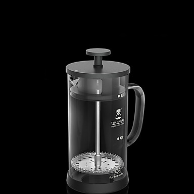 350 ml Cam Fransız basın , 3 su bardağı kokulu Çay Maker Manual