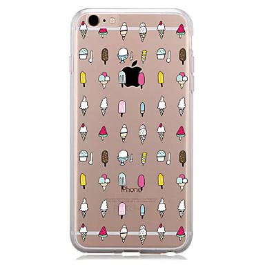 Pentru Model Maska Carcasă Spate Maska Dale Moale TPU pentru AppleiPhone 7 Plus iPhone 7 iPhone 6s Plus/6 Plus iPhone 6s/6 iPhone SE/5s/5