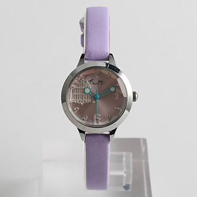 Damskie Modny Sztuczny Diamant Zegarek Kwarcowy / PU Pasmo Na co dzień Zielnony Purple