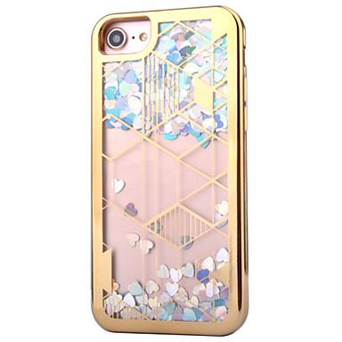 Etui Käyttötarkoitus Apple Pinnoitus Virtaava neste Takakuori Kimmeltävä Pehmeä TPU varten iPhone 7 Plus iPhone 7 iPhone 6s Plus iPhone 6
