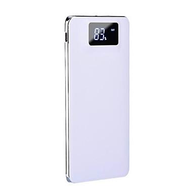 Bank zewnętrznego zasilania baterii 5V 1.0A 2.0A #A Ładowarka Latarka z kablem Wiele wyjść Odporny na wstrząsy Bardzo cienki/a LCD