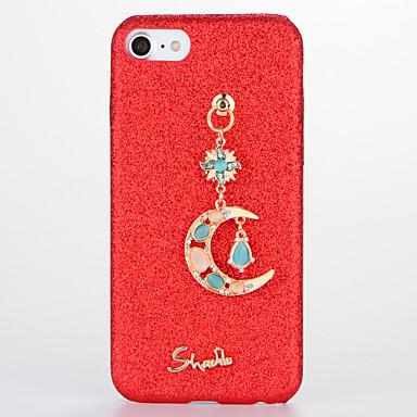 Için Taşlı Kendin-Yap Pouzdro Arka Kılıf Pouzdro Glitter Parlatıcı Sert PC için AppleiPhone 7 Plus iPhone 7 iPhone 6s Plus iPhone 6 Plus
