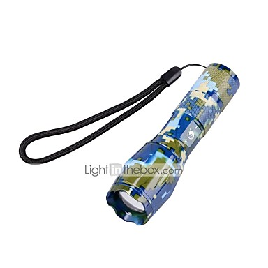 U'King Φακοί LED LED 2000 lm 5 Τρόπος Cree XM-L T6 Zoomable Ρυθμιζόμενη Εστίαση Κατασκήνωση/Πεζοπορία/Εξερεύνηση Σπηλαίων Καθημερινή