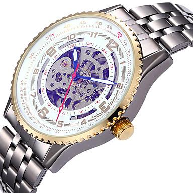 Bărbați Ceas Sport Ceas Elegant Ceas Schelet Ceas La Modă Ceas de Mână ceas mecanic Mecanism automat Aliaj Bandă Charm Casual Multicolor