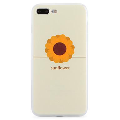 tok Για iPhone 7 Plus iPhone 7 Apple Με σχέδια Πίσω Κάλυμμα Λουλούδι Μαλακή TPU για iPhone 7 Plus iPhone 7