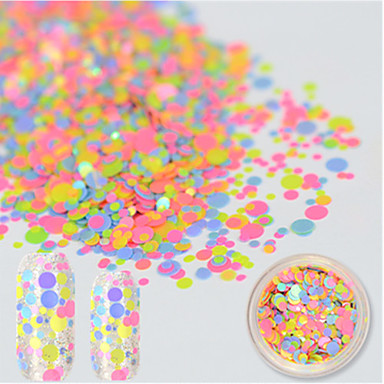 1 bottle Sisustustarvikkeet Sievä Nail Art DIY Tool Accessory 3D Nail Art Design