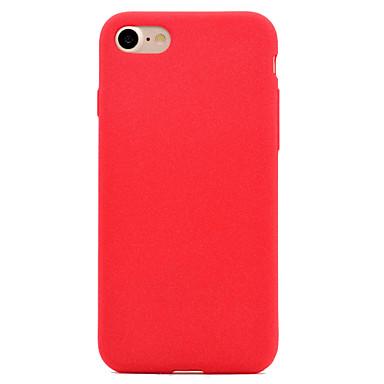 إلى مثلج غطاء غطاء خلفي غطاء لون صلب ناعم قماش إلى Apple فون 7 زائد فون 7 iPhone 6s Plus/6 Plus iPhone 6s/6 iPhone SE/5s/5