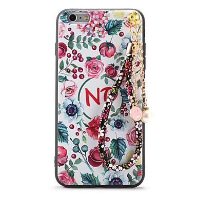 Για Με σχέδια Ανάγλυφη Φτιάξτο Μόνος Σου tok Πίσω Κάλυμμα tok Λουλούδι Μαλακή TPU για AppleiPhone 7 Plus iPhone 7 iPhone 6s Plus iPhone 6