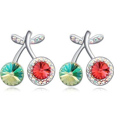 Damskie Kolczyki na sztyft Kryształ Spersonalizowane Modny euroamerykańskiej minimalistyczny styl Biżuteria Na Ślub Impreza Urodziny