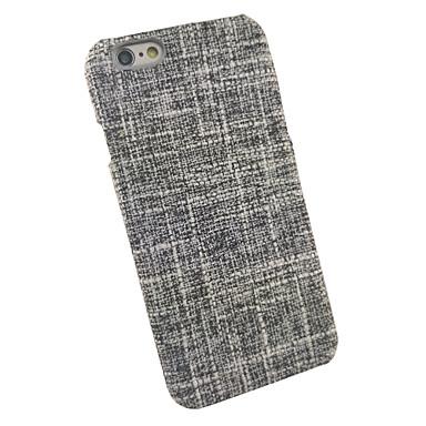 Pentru Anti Șoc Maska Carcasă Spate Maska Linii / Valuri Greu Textil pentru AppleiPhone 7 Plus iPhone 7 iPhone 6s Plus iPhone 6 Plus