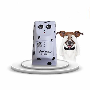 Câine Antrenament Electronic Ajutoare Comportament Ultrasonic Portabil Fără fir anti-Scoarță Zgomot Redus Alb