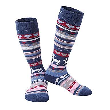 Παιδικά Κάλτσες πεζοπορίας Αθλητικές κάλτσες Κάλτσες Διατηρείτε Ζεστό Γρήγορο Στέγνωμα Moale Άνετο Frecare Ușoară για Αθλήματα Χιονιού -