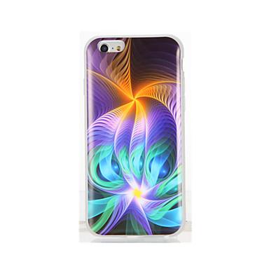Için IMD Temalı Pouzdro Arka Kılıf Pouzdro Renkli Gradyan Yumuşak TPU için AppleiPhone 7 Plus iPhone 7 iPhone 6s Plus iPhone 6 Plus