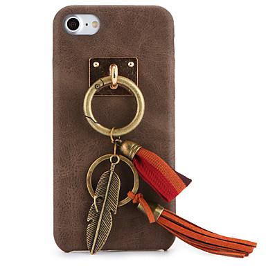 Varten DIY Etui Takakuori Etui Yksivärinen Kova Tekonahka varten Apple iPhone 7 Plus iPhone 7 iPhone 6s Plus/6 Plus iPhone 6s/6