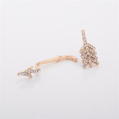 Kolczyki na sztyft Biżuteria Okragły Modny Osobiste euroamerykańskiej Stop Biżuteria Gold Silvery Biżuteria Na Codzienny Casual 1 para