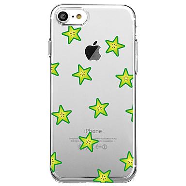Varten Ultraohut Kuvio Etui Takakuori Etui Hedelmä Pehmeä TPU varten AppleiPhone 7 Plus iPhone 7 iPhone 6s Plus iPhone 6 Plus iPhone 6s