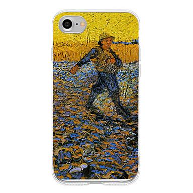 Için Temalı Pouzdro Arka Kılıf Pouzdro Manzara Yumuşak TPU için AppleiPhone 7 Plus iPhone 7 iPhone 6s Plus iPhone 6 Plus iPhone 6s iphone