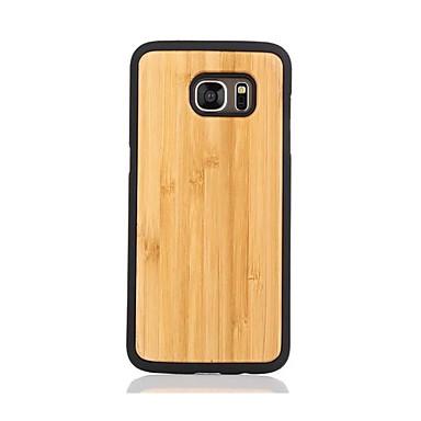 Maska Pentru Samsung Galaxy S7 edge S7 Model Capac Spate Culoare solidă Greu De lemn pentru S7 edge S7