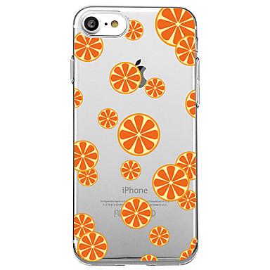 Για Θήκες Καλύμματα Εξαιρετικά λεπτή Με σχέδια Πίσω Κάλυμμα tok Φρούτα Μαλακή TPU για Apple iPhone 7 Plus iPhone 7 iPhone 6s Plus iPhone