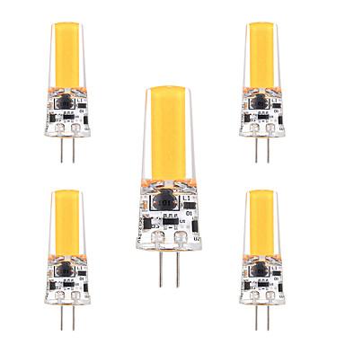 ywxlight® 3w g4 οδήγησε φώτα διπλής καρφίτσας 1 λάμπες κολοκύθιο φωτεινό διακοσμητικό ζεστό λευκό κρύο λευκό 200-300lm ac 12 dc 12-24v