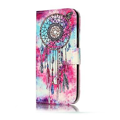 Kılıf Na Samsung Galaxy A5(2017) A3(2017) Portfel Etui na karty Z podpórką Flip Wzór Magnetyczne Futerał Łapacz snów Twarde Sztuczna skóra