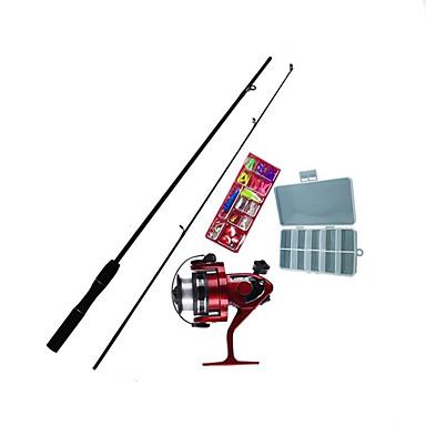 ممر صيد الاسماك ISO رود عصا القلم عصا طائرة تصفح رود FRP الصيد البحري صيد أسماك علي الطائر صيد الأسماك في الجليد Fishing Rod + Reel مخفي