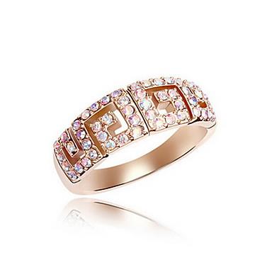 Męskie Damskie Pierścionki dla par Biżuteria Podstawowy euroamerykańskiej Syntetyczne kamienie szlachetne Biżuteria Biżuteria Na Impreza