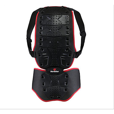 herobiker motocicleta armura pentru a proteja suportul din spate îmbrăcăminte de schi picătură din spate spinării protecție șoc gri