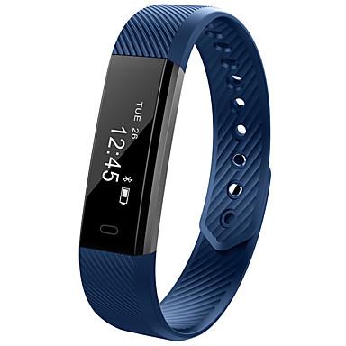 Smart Watch Activity Tracker Ajastin Vedenkestävä Poltetut kalorit Askelmittarit Liikuntavihko Herätyskello Kestävä Tiedot Unimittari
