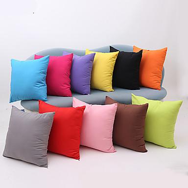 1 قطع القطن وسادة القضية الصلبة الحديثة الزخرفية وسادة تغطي أريكة