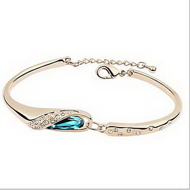 للمرأة أساور مجوهرات الصداقة موضة كريستال سبيكة شكل القلب مجوهرات من أجل عيد ميلاد هدية الفالنتين