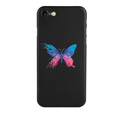 Için Temalı Pouzdro Arka Kılıf Pouzdro Kelebek Yumuşak TPU için AppleiPhone 7 Plus iPhone 7 iPhone 6s Plus iPhone 6 Plus iPhone 6s iphone