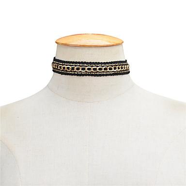 Pentru femei Șuviță unică Personalizat Lux Design Unic Modă Euramerican Bijuterii Statement European Coliere Choker Coliere Bijuterii