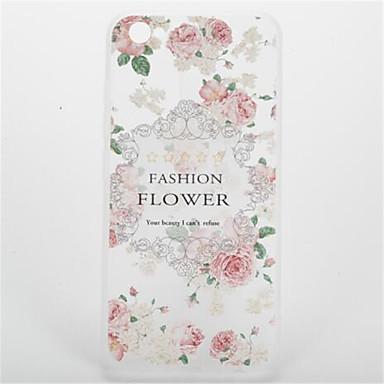 إلى نموذج غطاء غطاء خلفي غطاء زهور ناعم TPU إلى Apple فون 7 زائد فون 7 iPhone 6s Plus iPhone 6 Plus iPhone 6s أيفون 6