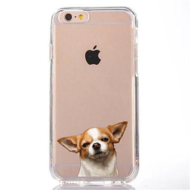tok Για Apple iPhone 7 Plus iPhone 7 Διαφανής Με σχέδια Πίσω Κάλυμμα Σκύλος Μαλακή TPU για iPhone 7 Plus iPhone 7 iPhone 6s Plus iPhone