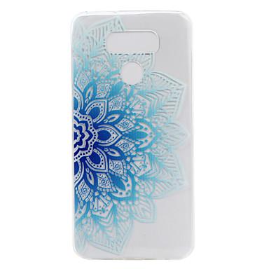 إلى شفاف نموذج غطاء غطاء خلفي غطاء زهور ناعم TPU إلى LG LG G6 LG X Power