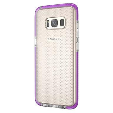 Kılıf Na Samsung Galaxy S8 Plus S8 Ultra cienkie Półprzezroczyste Czarne etui Solid Color Miękkie TPU na S8 Plus S8