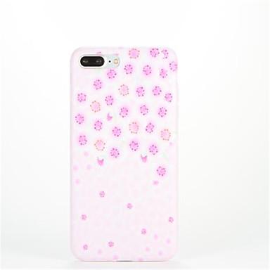 Για Με σχέδια tok Πίσω Κάλυμμα tok Πλακίδια Μαλακή TPU για Apple iPhone 7 Plus iPhone 7 iPhone 6s Plus iPhone 6 Plus iPhone 6s iPhone 6